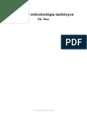 Az orvosi mikrobiológia tankönyve   Digitális Tankönyvtár